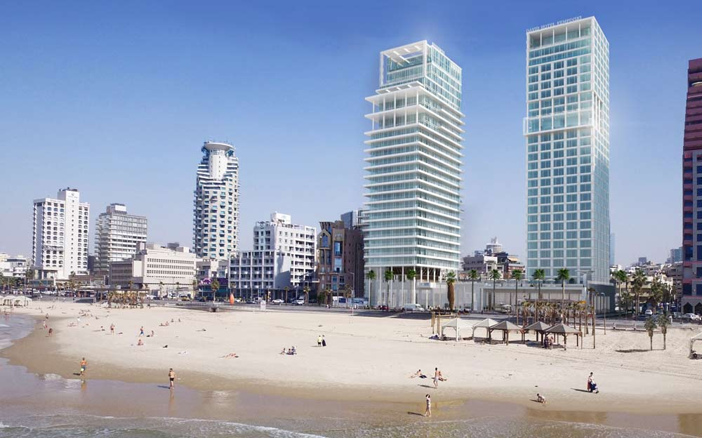 Отель David Kempinski Тель-Авив