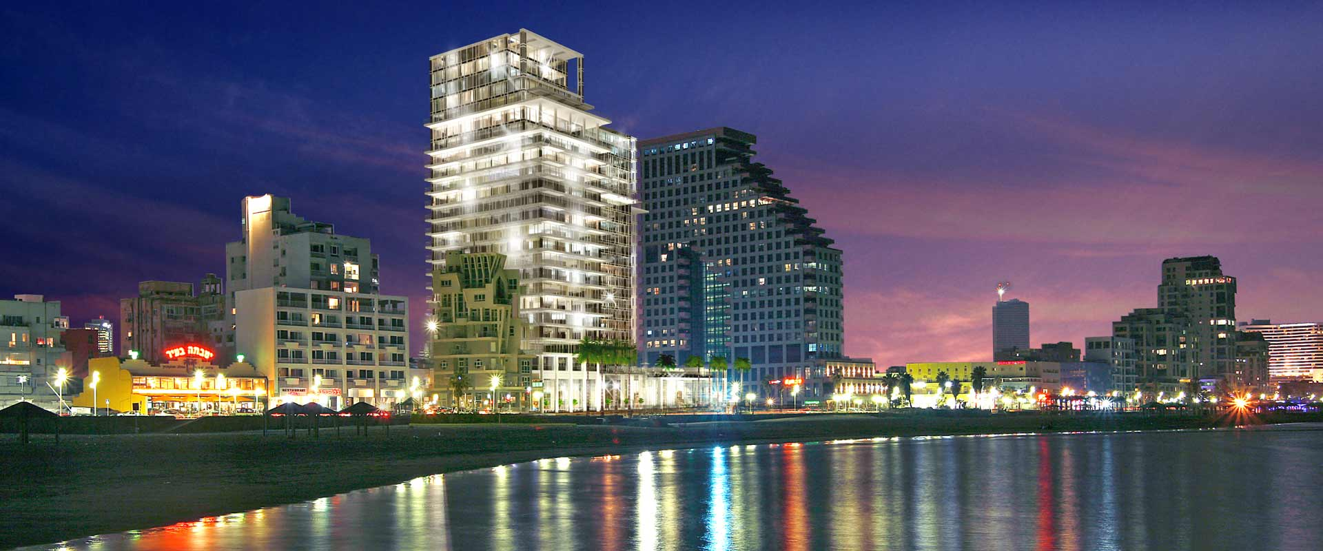 Overview of the David Promenade Residences and the David Hotel Kempinski